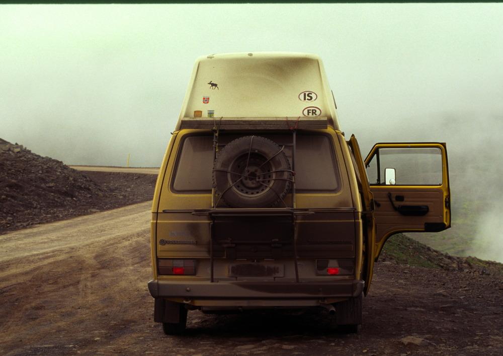VW T3 in Iceland