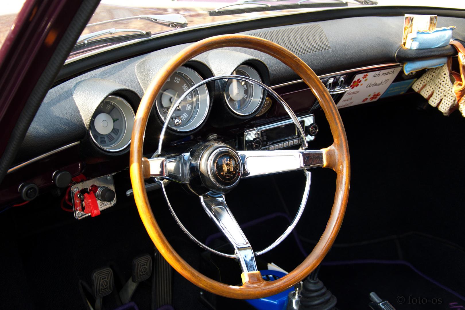 VW TYP III Interior