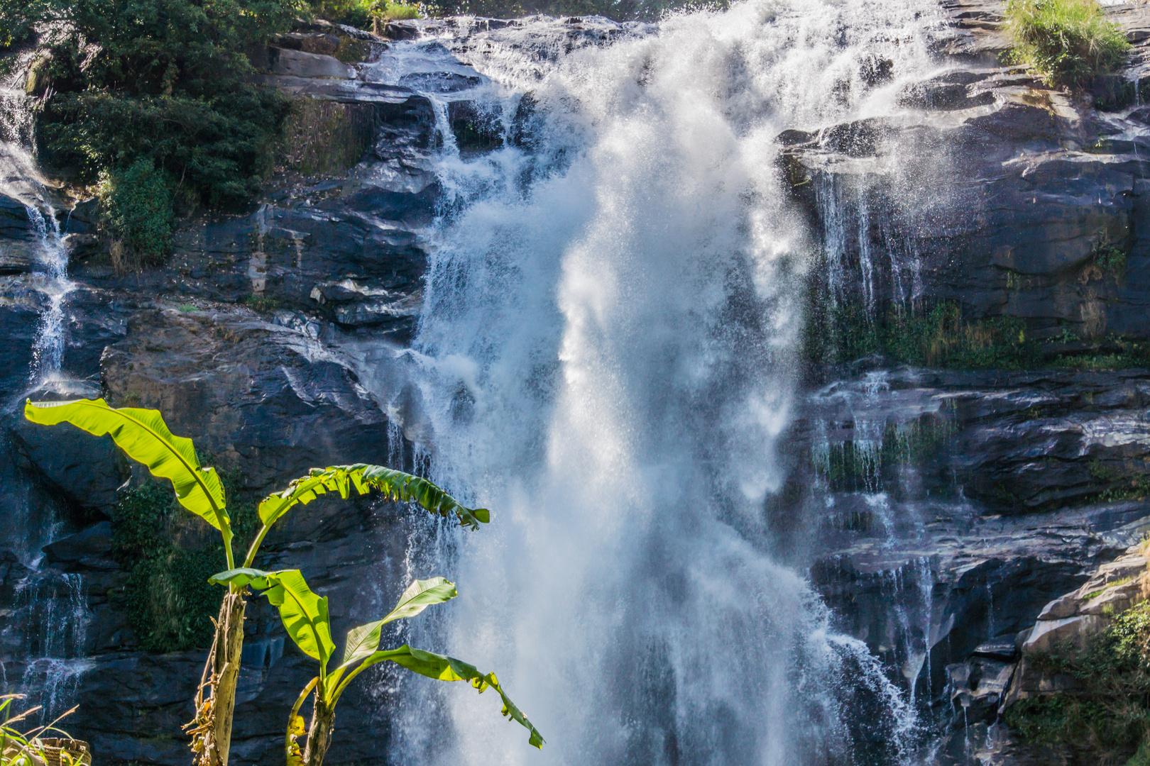 Wachirathan Wasserfall III - Doi Inthanon/Nordthailand
