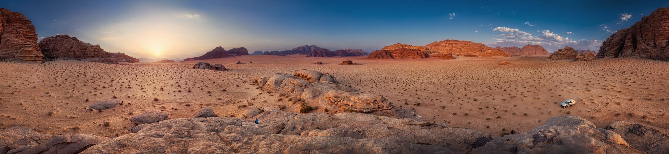 Wadi Rum . 2