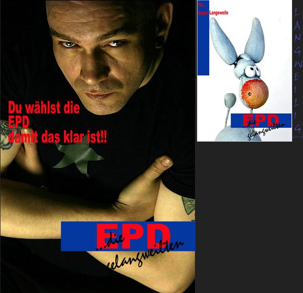 wählt EPD...... für gegen Langeweile