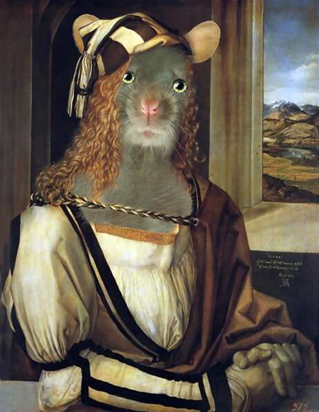 wäre Albrecht Dürer eine Maus gewesen.