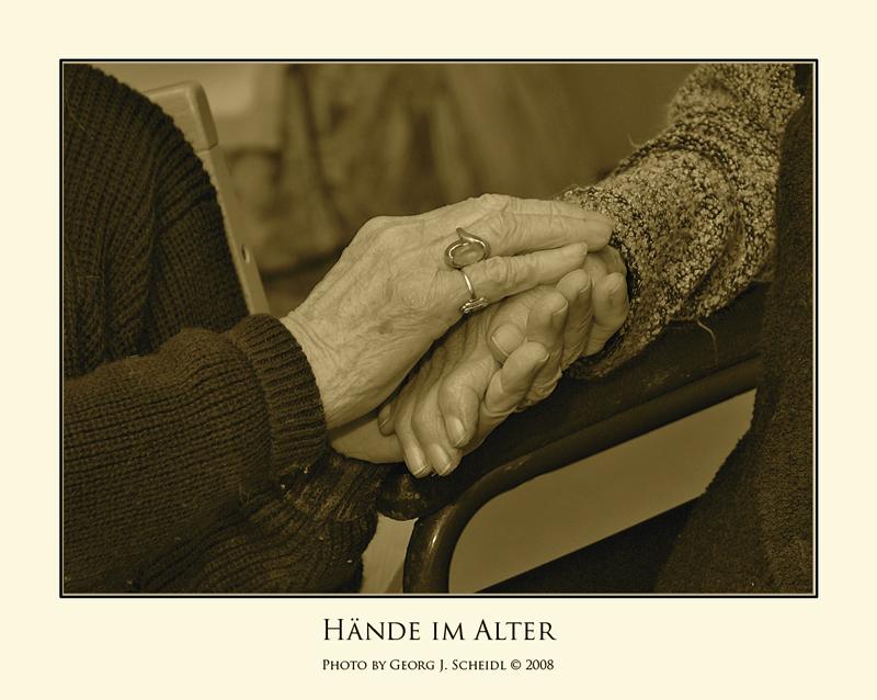 Wärmende Hände