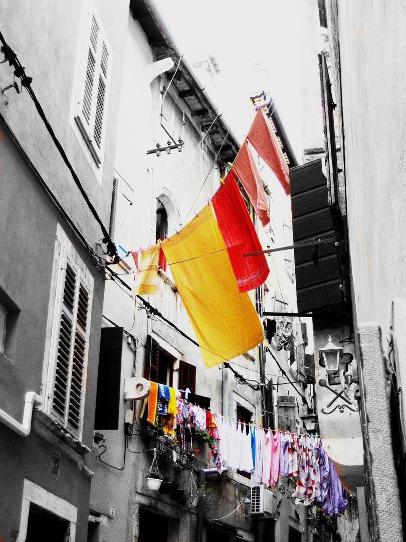 Wäsche in Kroatien