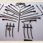 Waffen von dazumal… da ist doch für jeden was dabei oder … :)