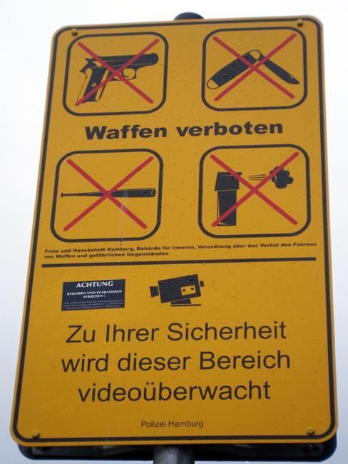 Waffenfreie Reeperbahn