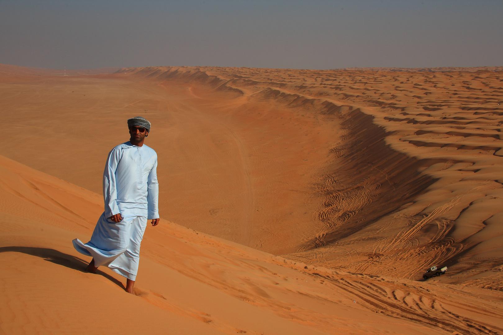Wahiba Sands, Sultanat d'Oman: l'élégance dans la simplicité.