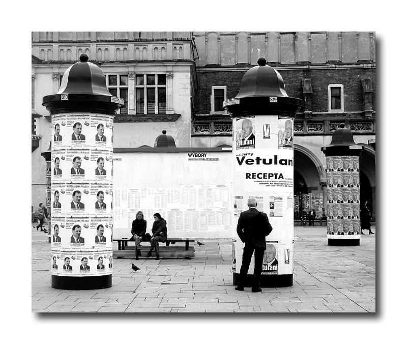 Wahlkampf in Krakau