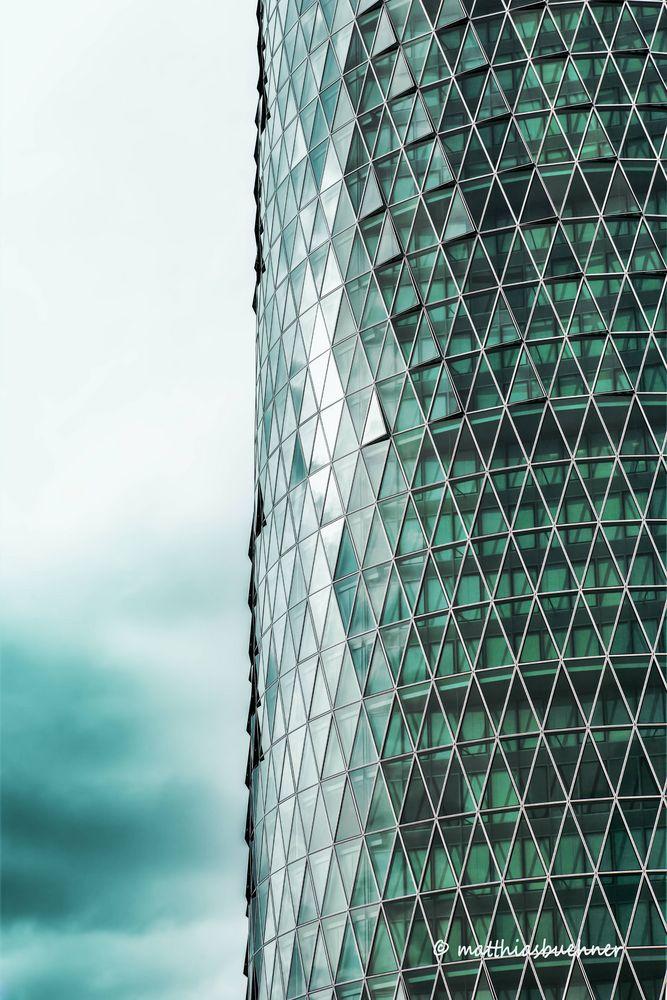 Wahrzeichen von Frankfurt am Main aus Glas