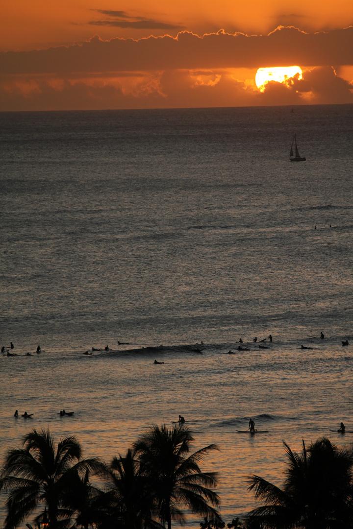 Waikiki Beach October 2011