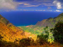 Waimea_Canyan auf Hawaii (Insel Kauai)