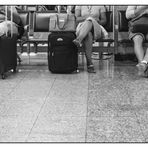 waiting for  boarding
