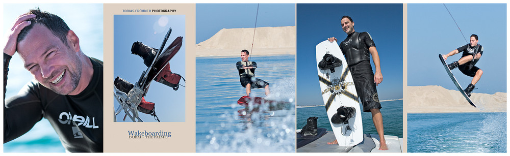 wakeboarding in dubai!