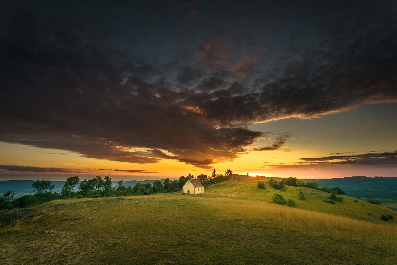 Walberla:Sonnenaufgang