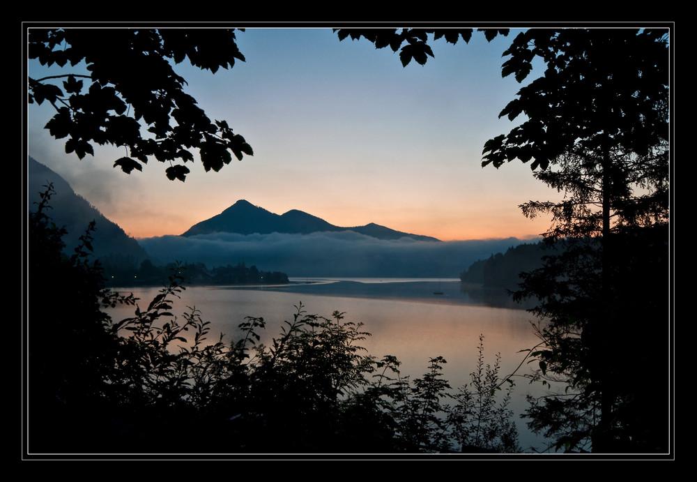 Walchensee am Morgen 1