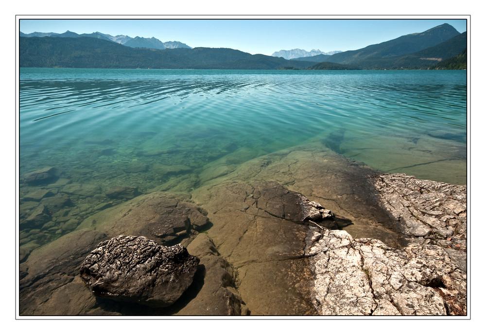Walchensee am Vormittag