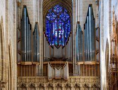 Walcker-Orgel im Ulmer Münster