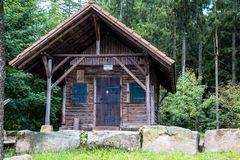 Waldhütte in Seewald-Besenfeld von 1914