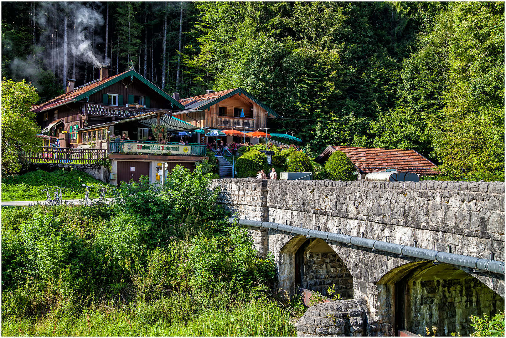 Waldschänke Niedernach Foto & Bild | sommer, see, berge Bilder auf ...