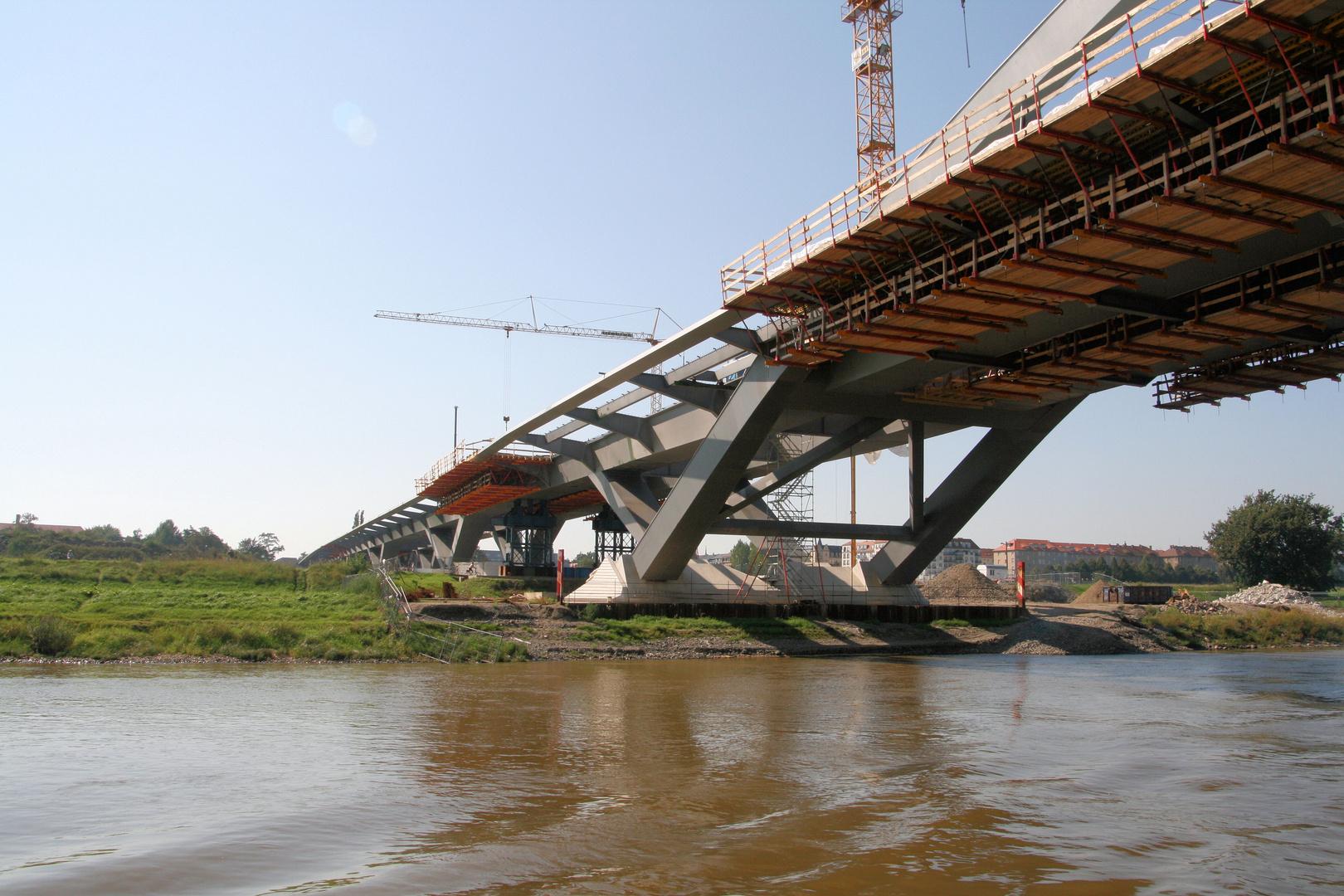 Waldschlösschen-Brücke in Dresden
