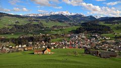 Waldstatt AR mit Alpstein
