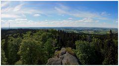 Waldsteinblick zum Frankenwald