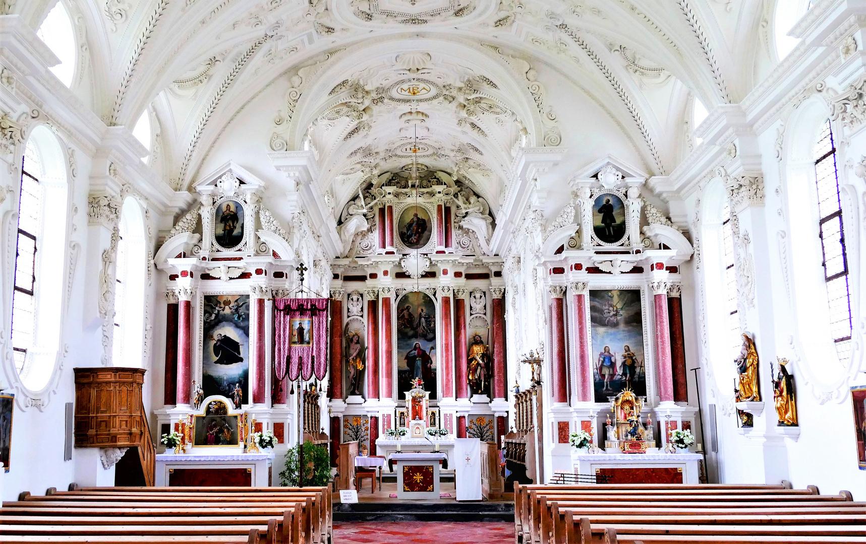 Walfahrtskirche  St Coloman bei Füssen