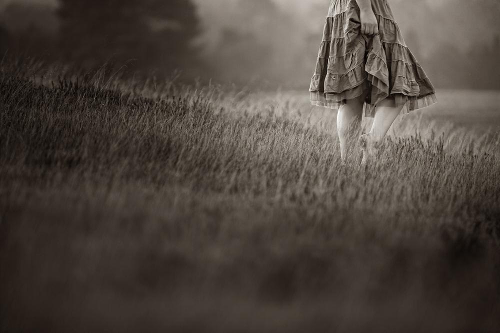 [walk in the grass]