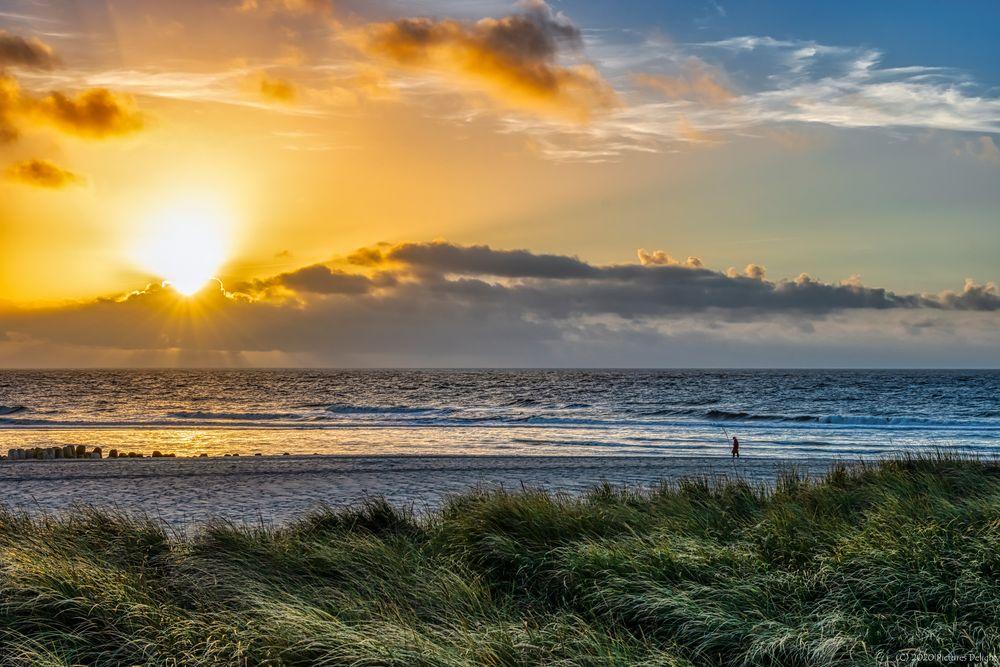- Walk on the beach -