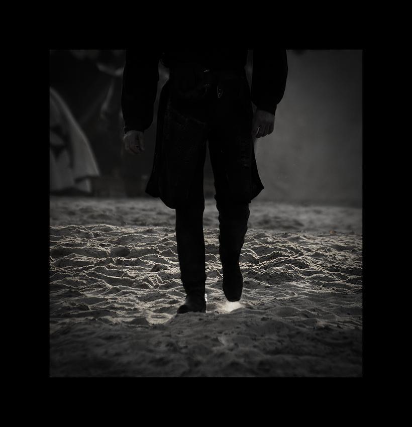 Walking in my.....