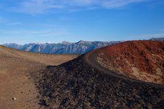 Walking on the vulcano
