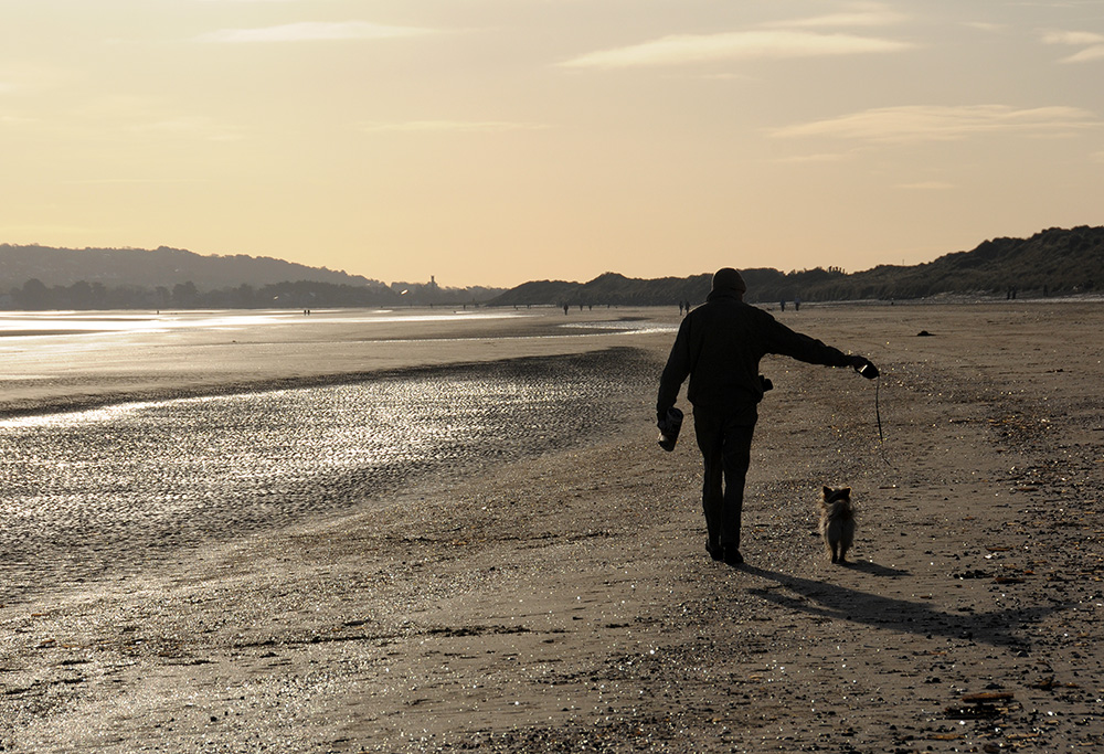 """Walking the dog..."""