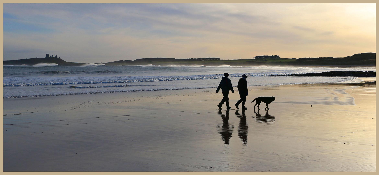 walking the dog embleton bay december 1b