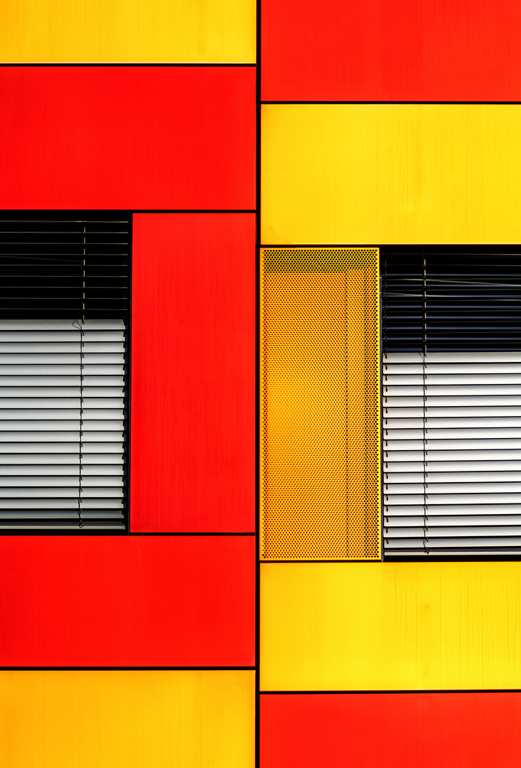 wall_abstract red/yellow