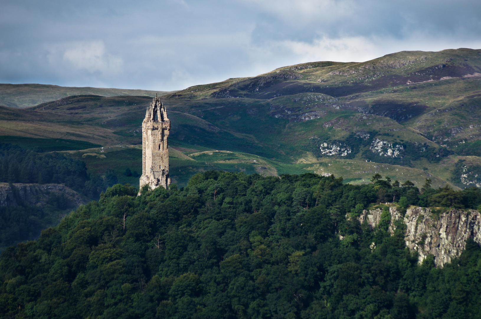 Wallace Monument 2.Versuch