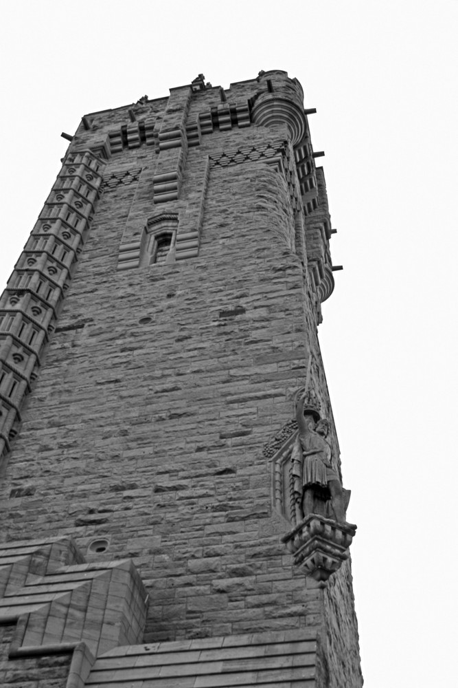 wallace monument stirling schottland