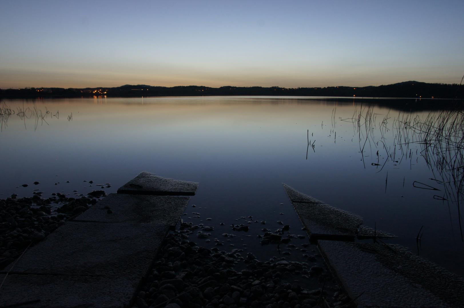 Wallersee-Ufer in Henndorf