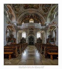 "Wallfahrtskirche Maria Hilf - Amberg "" Gott zu Gefallen... """