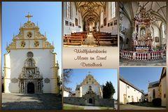 Wallfahrtskirche Maria im Sand Dettelbach...
