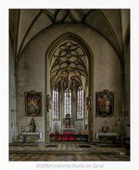 """Wallfahrtskirche Maria im Sand ( Dettelbach ) """" Gott zu Gefallen... """""""