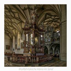"""Wallfahrtskirche Maria im Sand (Dettelbach)  """" Gott zu Gefallen... """""""