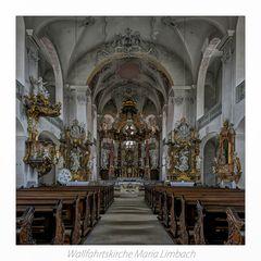 """Wallfahrtskirche Maria Limbach ( Eltmann ) """" Gott zu Gefallen... """""""