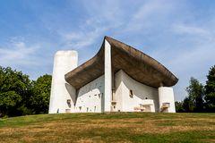 Wallfahrtskirche Ronchamp August 17/08
