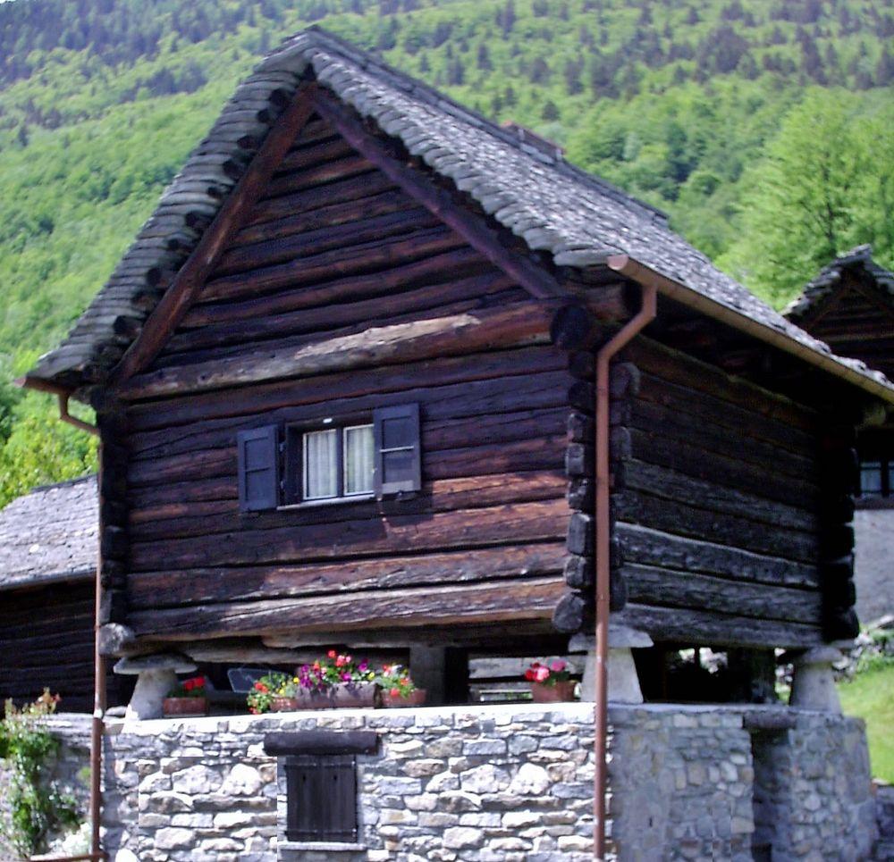 Walserhaus in Bosco Gurin