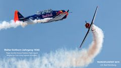 WALTER EICHHORN - Living Legend of Aviation