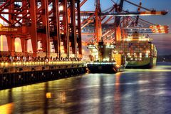 Waltershof Containerhafen