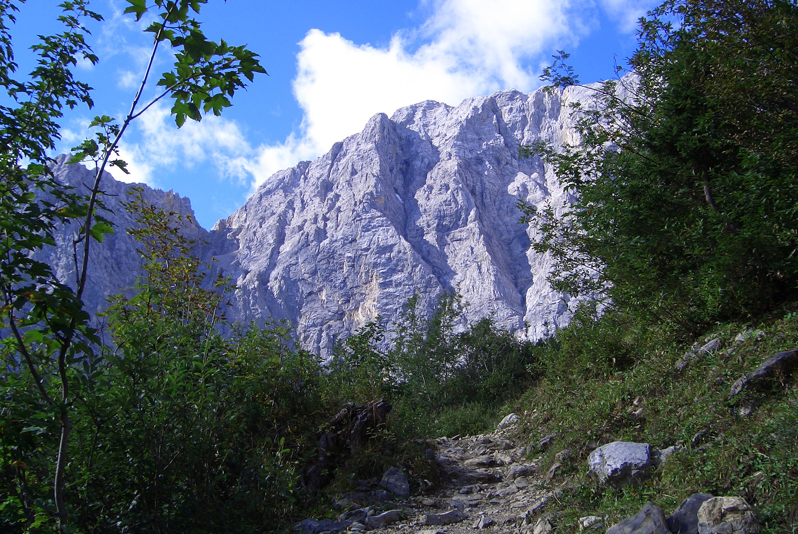 Wand der Alpen