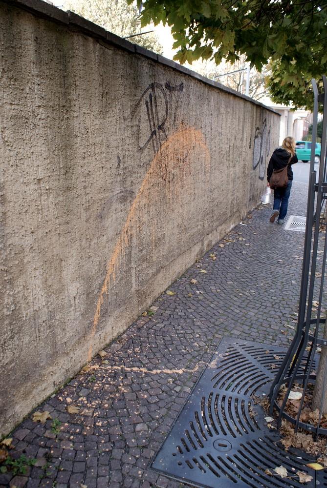 Wand, Punkt, Strich