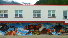 Wandbild aus Juneau