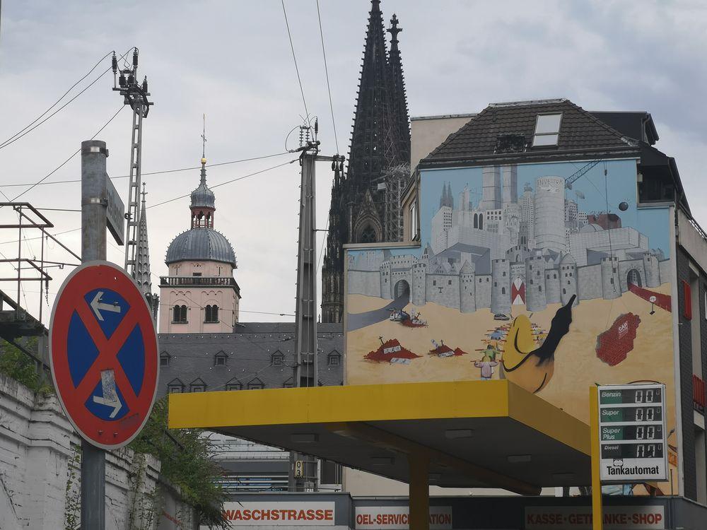 Wandbild Dom Köln  p20-20-col +5Fotos